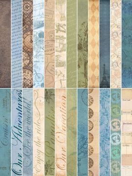 Come Away With Me Designer Border Strips