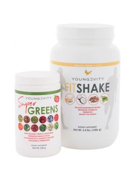 Youngevity Super Greens & Fitshake Combo
