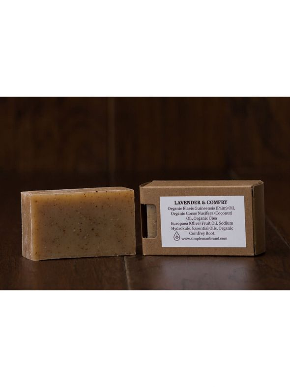 Simple Man Lavender Soap
