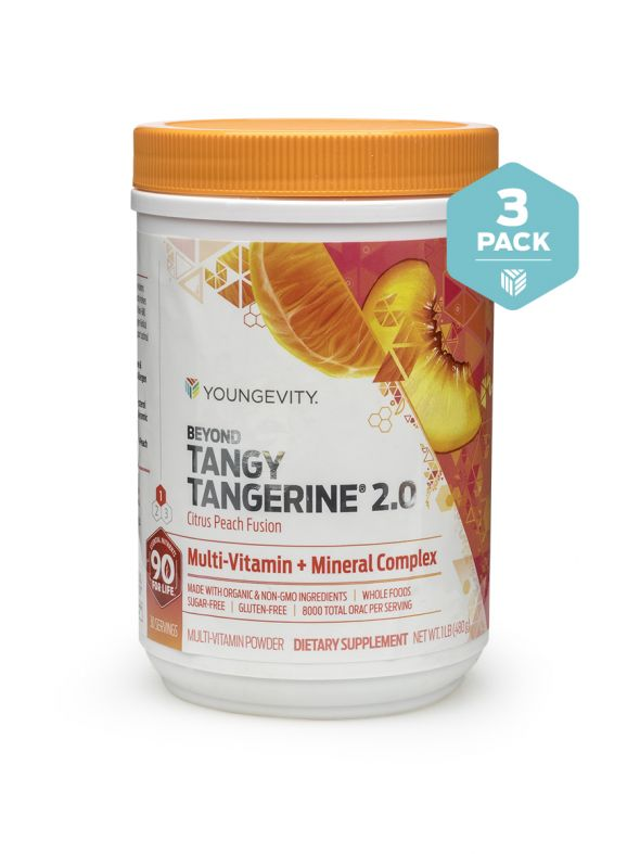 BTT 2.0 Citrus Peach Fusion 480 G Canister (3 Pack)