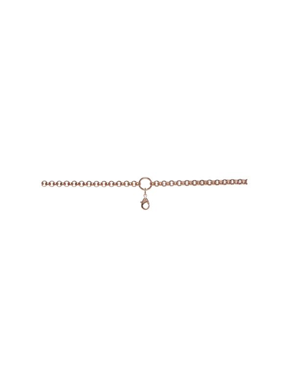 Rose Gold Rolo with Ring Station: 18-21""