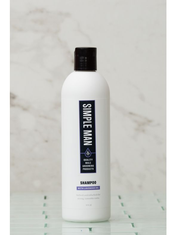 Simple Man Lavender Shampoo